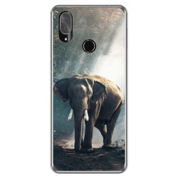 Funda Gel Tpu para Cubot X19 diseño Elefante Dibujos