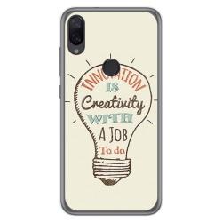 Funda Gel Tpu para Xiaomi Mi Play diseño Creativity Dibujos