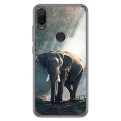 Funda Gel Tpu para Xiaomi Mi Play diseño Elefante Dibujos