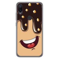 Funda Gel Tpu para Xiaomi Mi Play diseño Helado Chocolate Dibujos