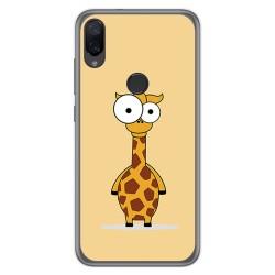 Funda Gel Tpu para Xiaomi Mi Play diseño Jirafa Dibujos