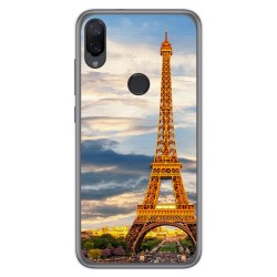 Funda Gel Tpu para Xiaomi Mi Play diseño Paris Dibujos