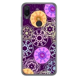 Funda Gel Tpu para Xiaomi Mi Play diseño Radial Dibujos