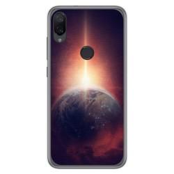Funda Gel Tpu para Xiaomi Mi Play diseño Tierra Dibujos