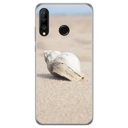 Funda Gel Tpu para Huawei P30 Lite diseño Concha Dibujos