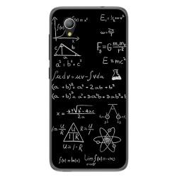 Funda Gel Tpu para Alcatel 1 2019 diseño Formulas Dibujos