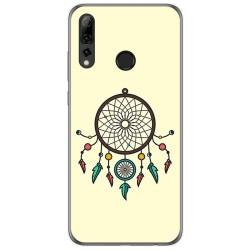 Funda Gel Tpu para Huawei P Smart Plus 2019 diseño Atrapasueños Dibujos