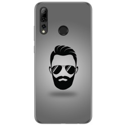 Funda Gel Tpu para Huawei P Smart Plus 2019 diseño Barba Dibujos