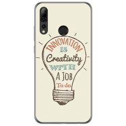 Funda Gel Tpu para Huawei P Smart Plus 2019 diseño Creativity Dibujos