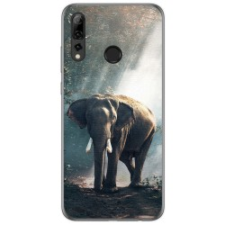 Funda Gel Tpu para Huawei P Smart Plus 2019 diseño Elefante Dibujos