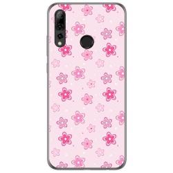 Funda Gel Tpu para Huawei P Smart Plus 2019 diseño Flores Dibujos
