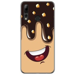 Funda Gel Tpu para Huawei P Smart Plus 2019 diseño Helado Chocolate Dibujos