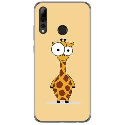 Funda Gel Tpu para Huawei P Smart Plus 2019 diseño Jirafa Dibujos
