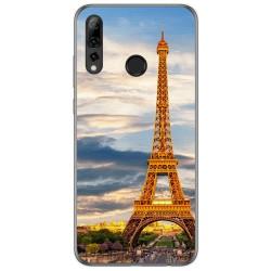 Funda Gel Tpu para Huawei P Smart Plus 2019 diseño Paris Dibujos