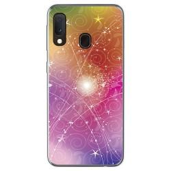 Funda Gel Tpu para Samsung Galaxy A20e 5.8 diseño Abstracto Dibujos
