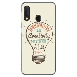 Funda Gel Tpu para Samsung Galaxy A20e 5.8 diseño Creativity Dibujos