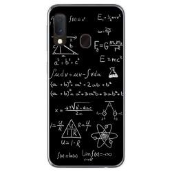 Funda Gel Tpu para Samsung Galaxy A20e 5.8 diseño Formulas Dibujos