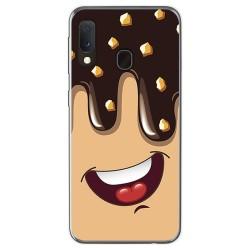 Funda Gel Tpu para Samsung Galaxy A20e 5.8 diseño Helado Chocolate Dibujos