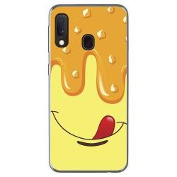 Funda Gel Tpu para Samsung Galaxy A20e 5.8 diseño Helado Vainilla Dibujos