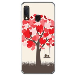 Funda Gel Tpu para Samsung Galaxy A20e 5.8 diseño Pajaritos Dibujos