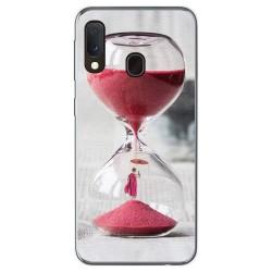 Funda Gel Tpu para Samsung Galaxy A20e 5.8 diseño Reloj Dibujos