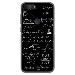 Funda Gel Tpu para Alcatel 1S 2019 diseño Formulas Dibujos