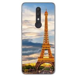 Funda Gel Tpu para Alcatel 1X 2019 diseño Paris Dibujos
