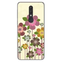 Funda Gel Tpu para Alcatel 1X 2019 diseño Primavera En Flor Dibujos