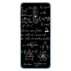 Funda Gel Tpu para Alcatel 3 2019 diseño Formulas Dibujos