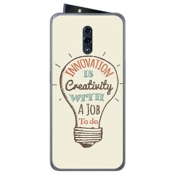 Funda Gel Tpu para Oppo Reno diseño Creativity Dibujos