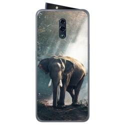Funda Gel Tpu para Oppo Reno diseño Elefante Dibujos
