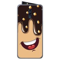 Funda Gel Tpu para Oppo Reno diseño Helado Chocolate Dibujos