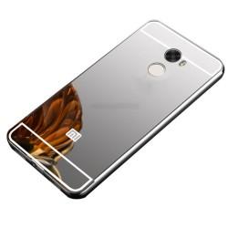 Funda Bumper Plata Aluminio + Tapa Trasera para Xiaomi Redmi 4