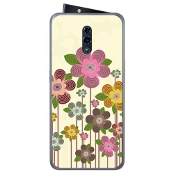 Funda Gel Tpu para Oppo Reno diseño Primavera En Flor Dibujos