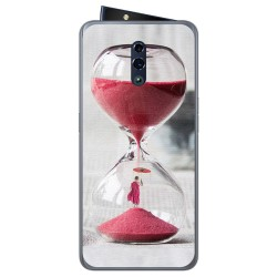 Funda Gel Tpu para Oppo Reno diseño Reloj Dibujos