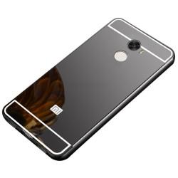 Funda Bumper Negra Aluminio + Tapa Trasera para Xiaomi Redmi 4