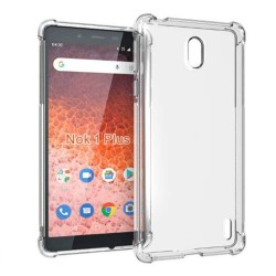Funda Gel Tpu Anti-Shock Transparente para Nokia 1 Plus