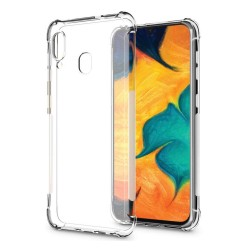 Funda Gel Tpu Anti-Shock Transparente para Samsung Galaxy A20 / A30