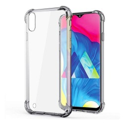 Funda Gel Tpu Anti-Shock Transparente para Samsung Galaxy M10
