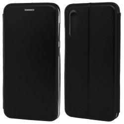 Funda Libro Soporte Magnética Elegance Negra para Samsung Galaxy A70