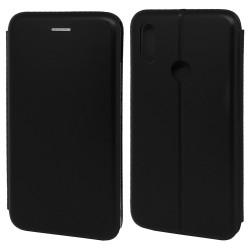 Funda Libro Soporte Magnética Elegance Negra para Xiaomi Redmi Note 7