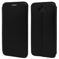 Funda Libro Soporte Magnética Elegance Negra para Samsung Galaxy A10