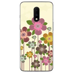 Funda Gel Tpu para Oneplus 7 diseño Primavera En Flor Dibujos