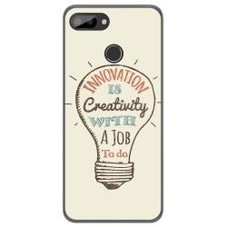 Funda Gel Tpu para Oukitel C11 / C11 Pro diseño Creativity Dibujos
