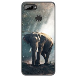 Funda Gel Tpu para Oukitel C11 / C11 Pro diseño Elefante Dibujos