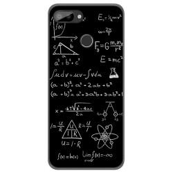 Funda Gel Tpu para Oukitel C11 / C11 Pro diseño Formulas Dibujos