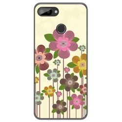 Funda Gel Tpu para Oukitel C11 / C11 Pro diseño Primavera En Flor Dibujos