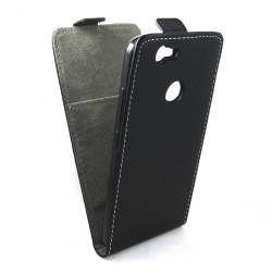 Funda Piel Premium Negra Ultra-Slim para Huawei Nova