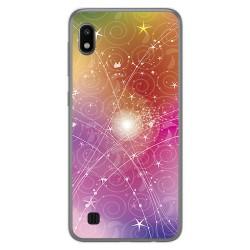 Funda Gel Tpu para Samsung Galaxy A10 diseño Abstracto Dibujos