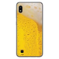 Funda Gel Tpu para Samsung Galaxy A10 diseño Cerveza Dibujos